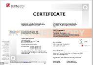 FSC® Certificate valid until 27-05-2020 (370.3 KB)