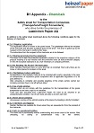 Safety sheet for transportation companies - Appendix chemicals (37.4 KB)