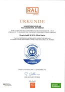 Zertifikat Der Blaue Engel GraphoLogIQ BE (53,0 KB)