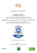 Zertifikat Der Blaue Engel GraphoSet BE (50,0 KB)