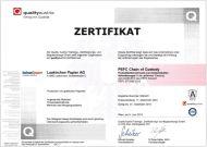 PEFC Certificate (470.8 KB)