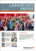 """Mitarbeiter-Zeitschrift """"Laakirchen Papier"""" (597,3 KB)"""